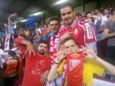 De gauche à droite : Fabio, Bastien, Arnaud et Jack