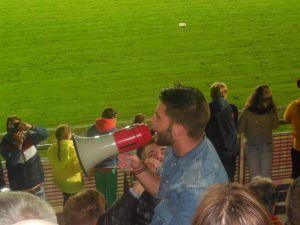 Kendji Girac en concert surprise au stade Leburton